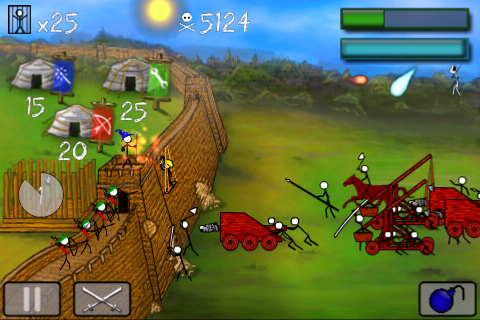 StickWars Lite Screenshot 1