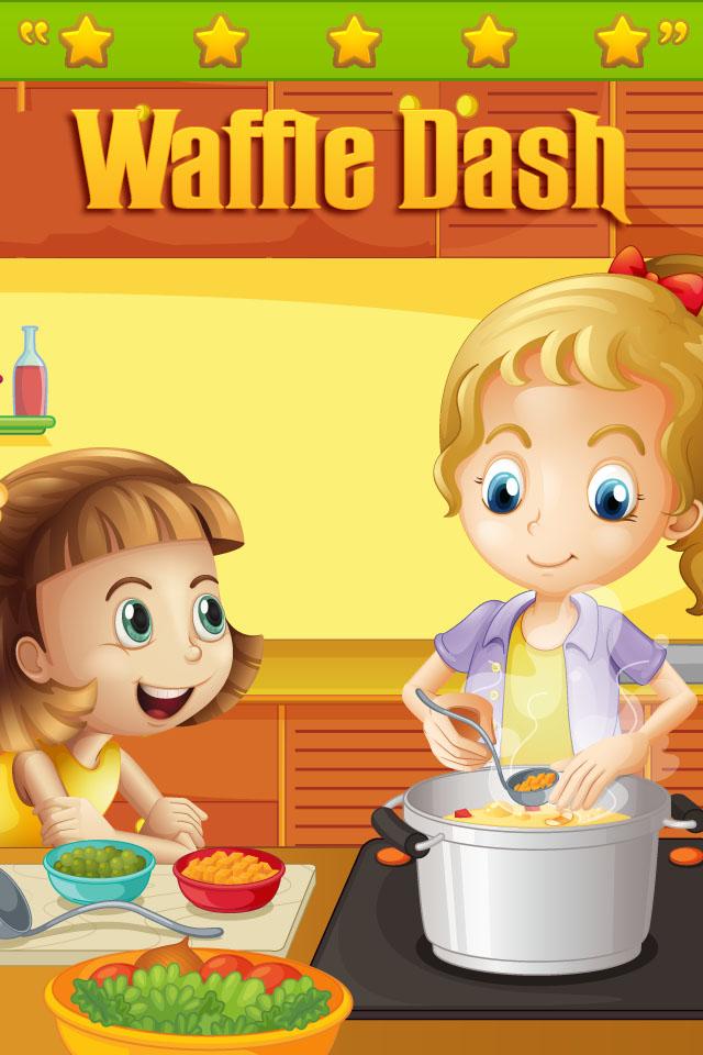 A Waffle Dash